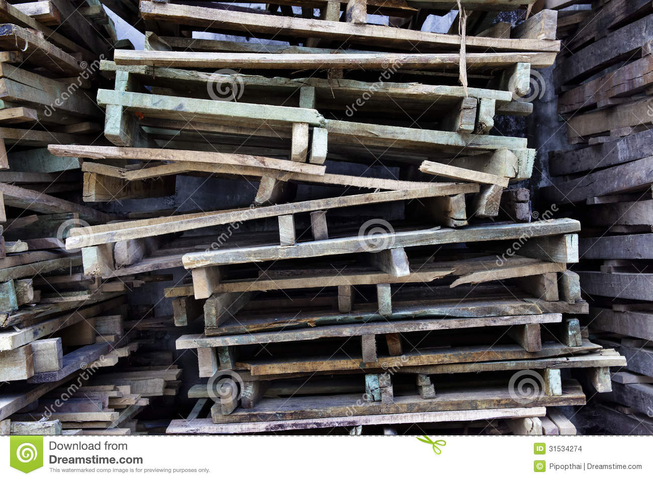 Wood Piling Construction : Pile of wood stock images image