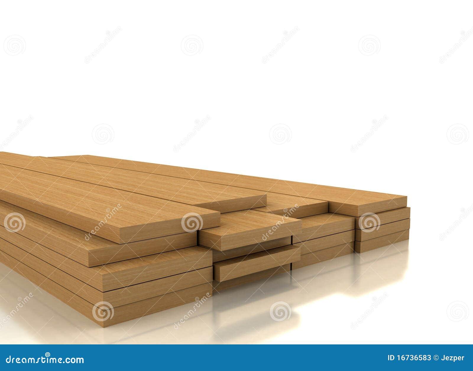 Pile Of Wood On White Stock Photos Image 16736583