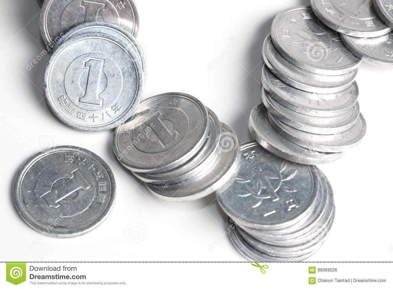 worksheet Yen Coins pile of 5 yen coins japanese money stock photo image 66069467 1 royalty free photos