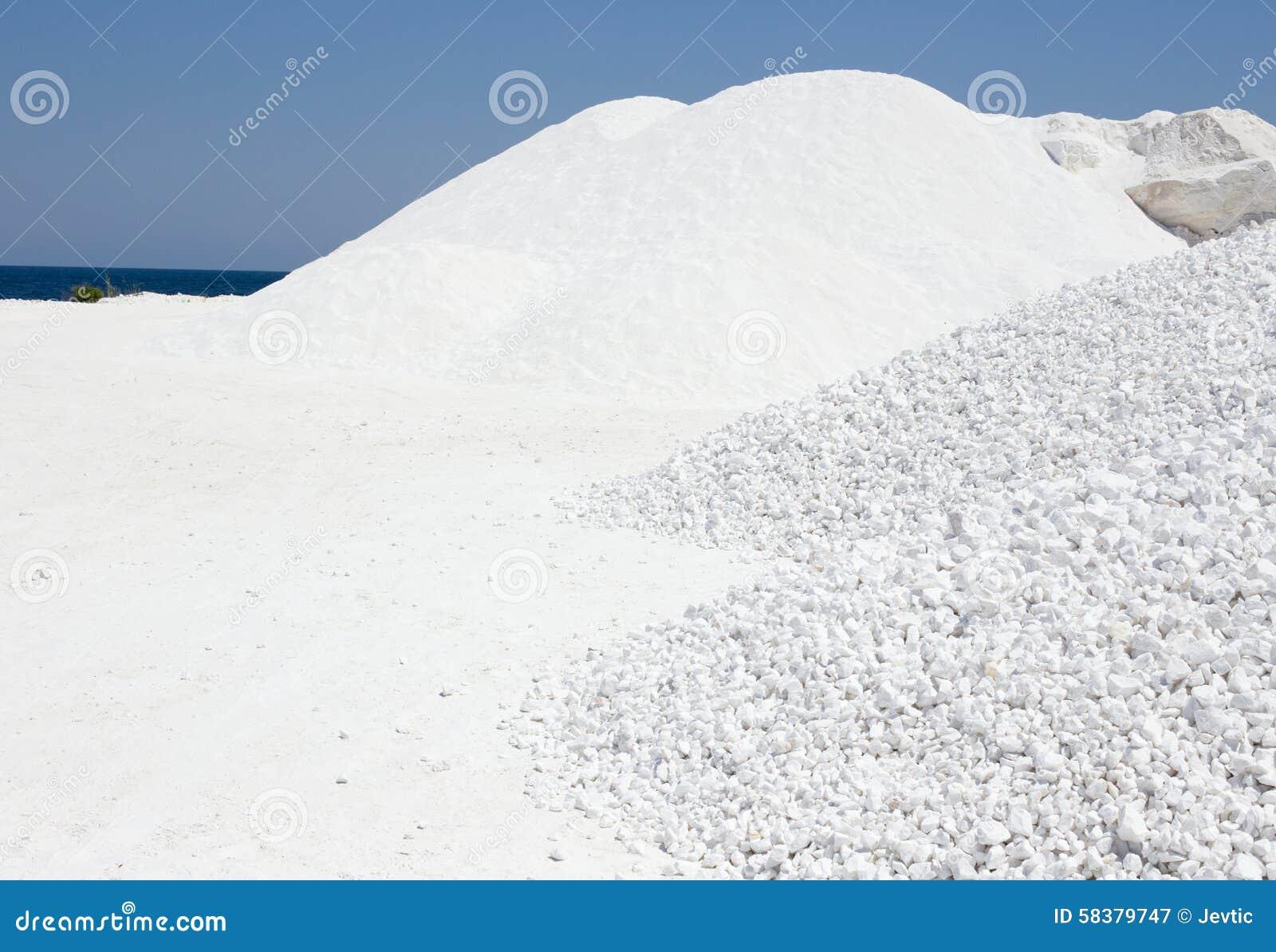 cailloux marbre blanc piles de marbre de cailloux photo stock image 58379747