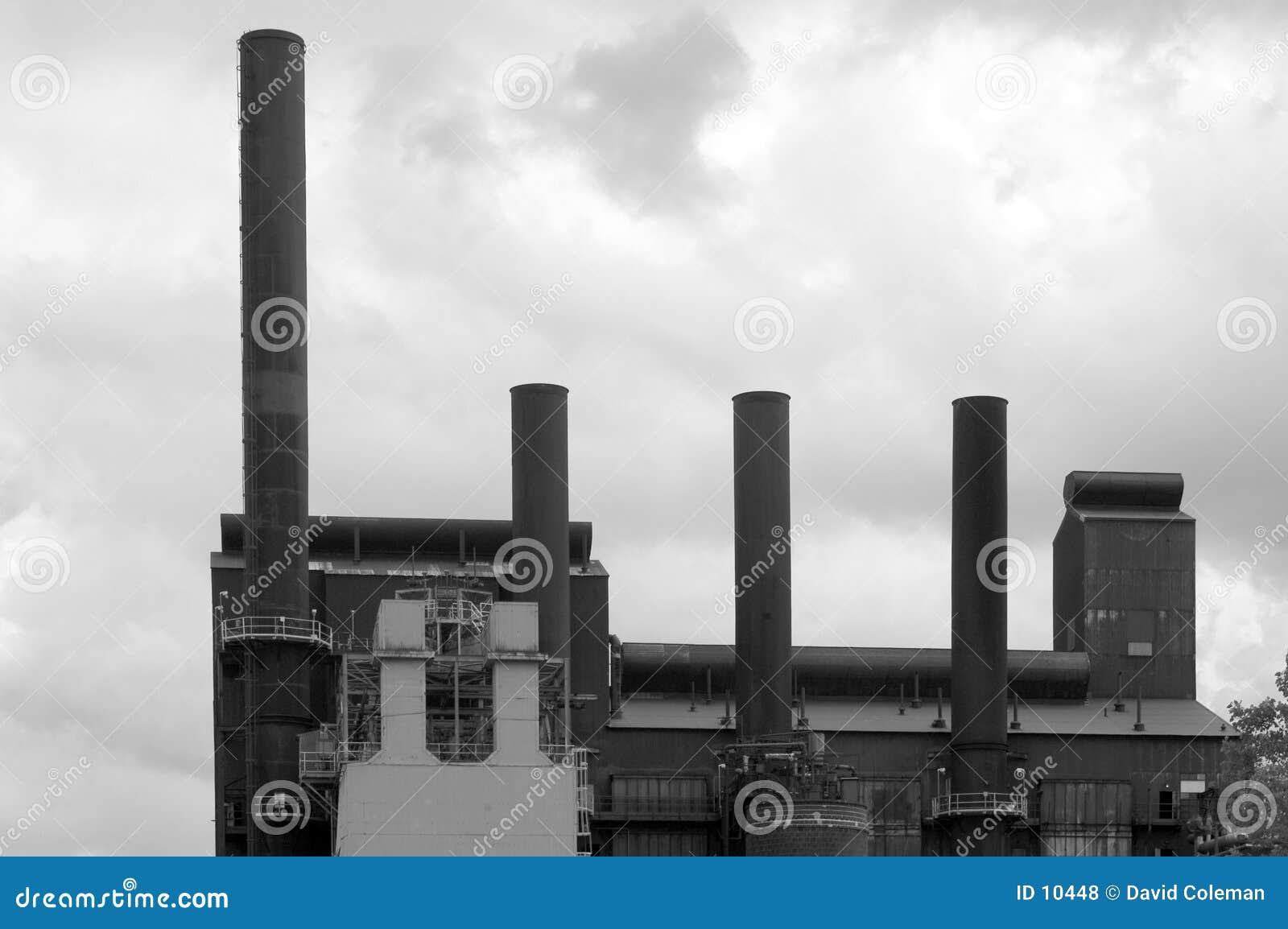 Piles en noir et blanc