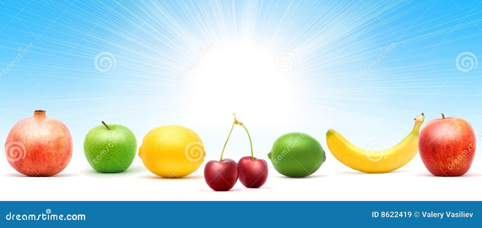 Pilha da fruta