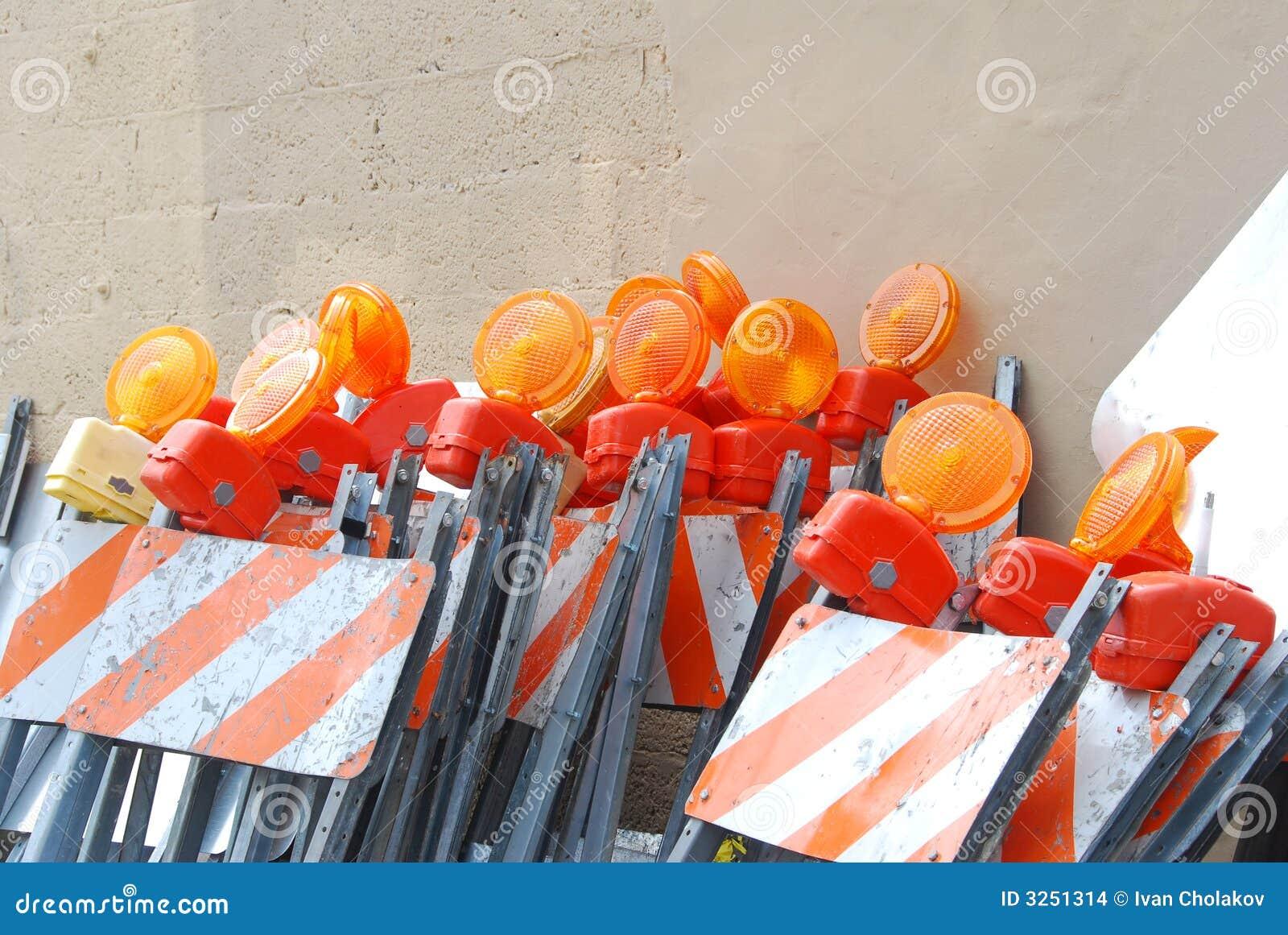 Pilha de barricadas