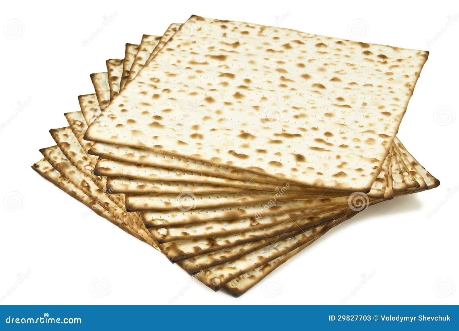 Pilha de pão unleavened