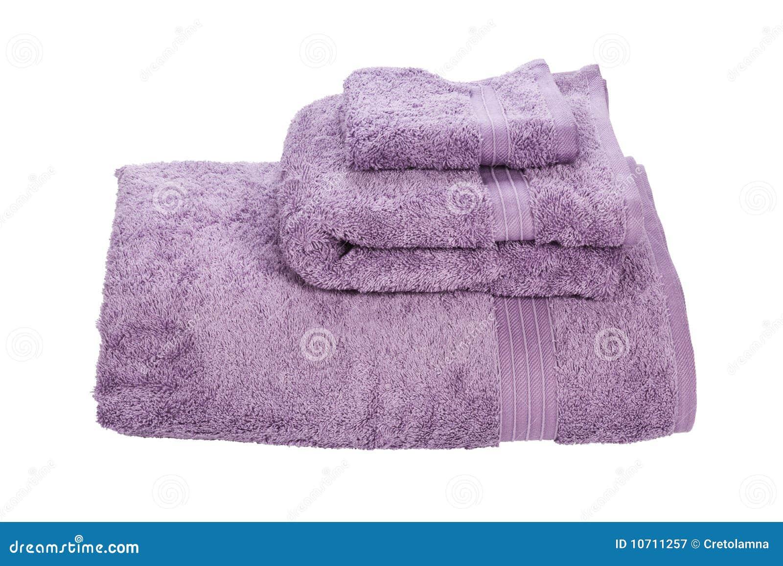 Pilha de toalhas.