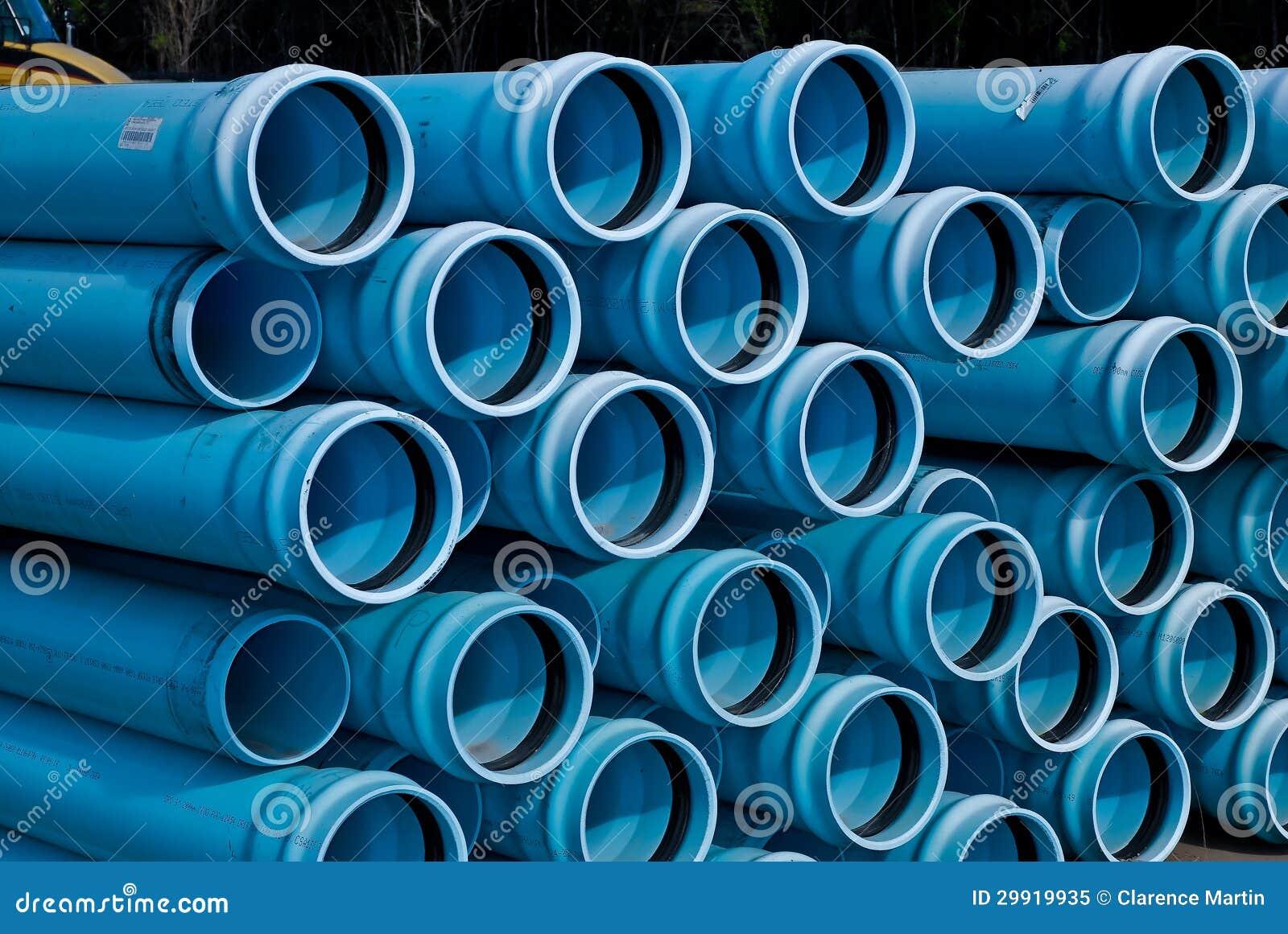 Pilhas de tubulação do PVC de C900 DR18