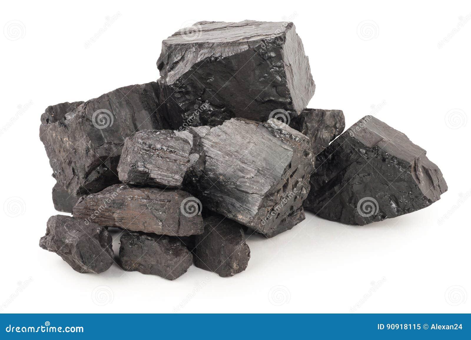 Pilha do carvão