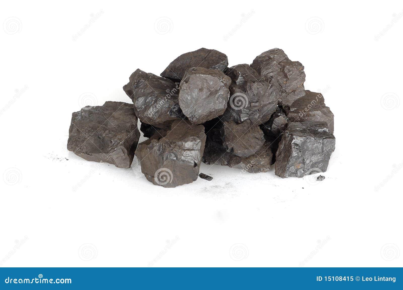 Pilha dos carvões