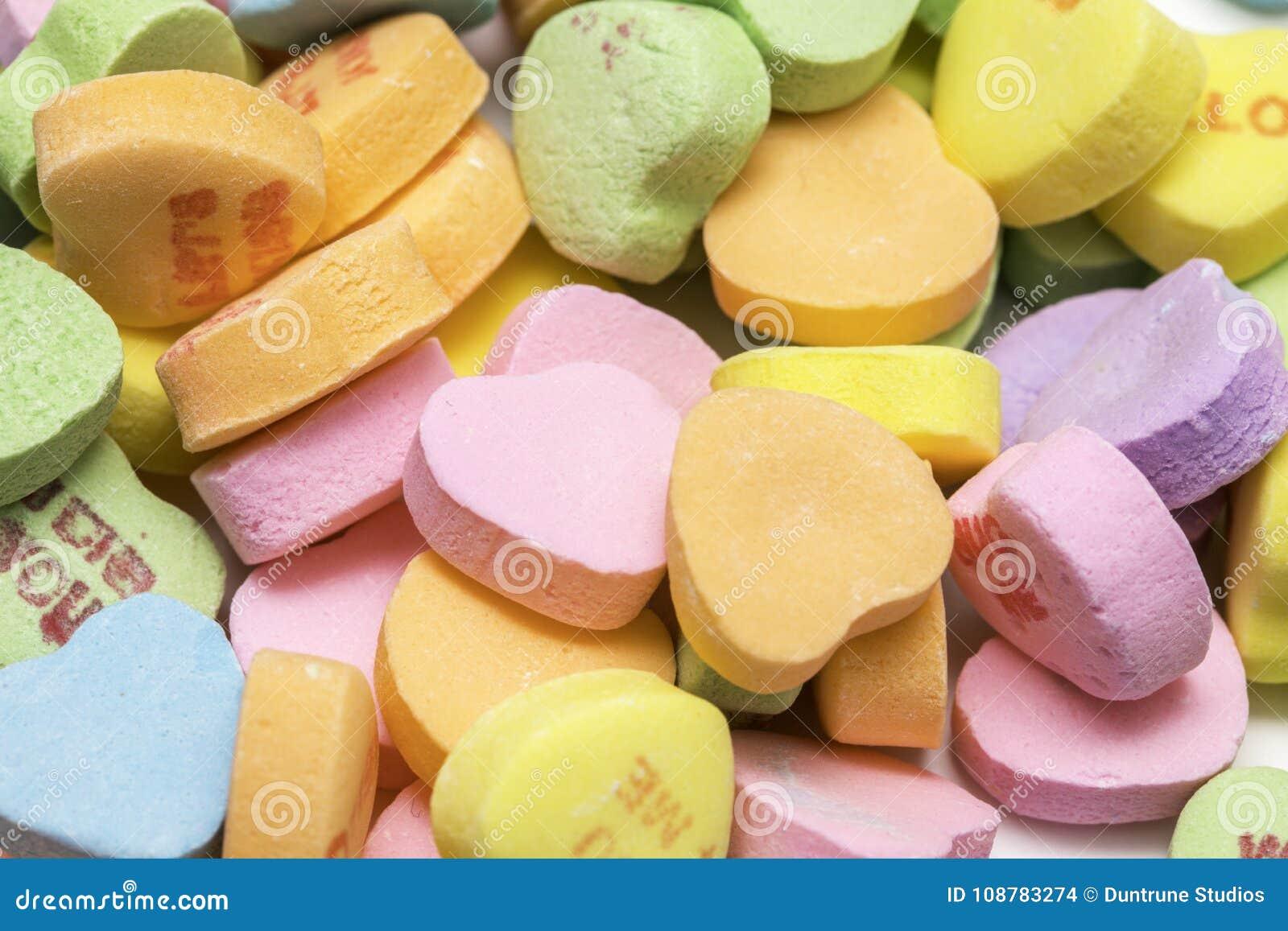 Pilha dos doces dos queridos