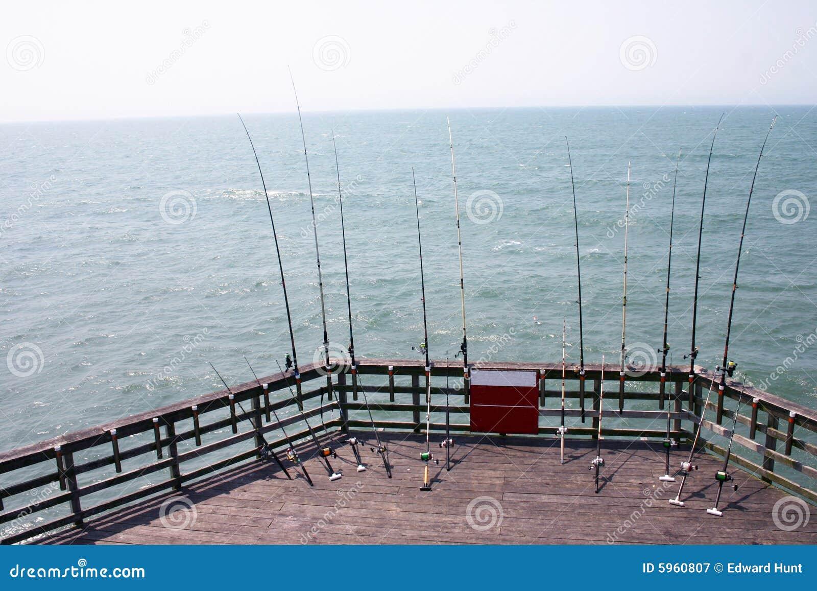 Pilier de pêche de la Caroline du Nord