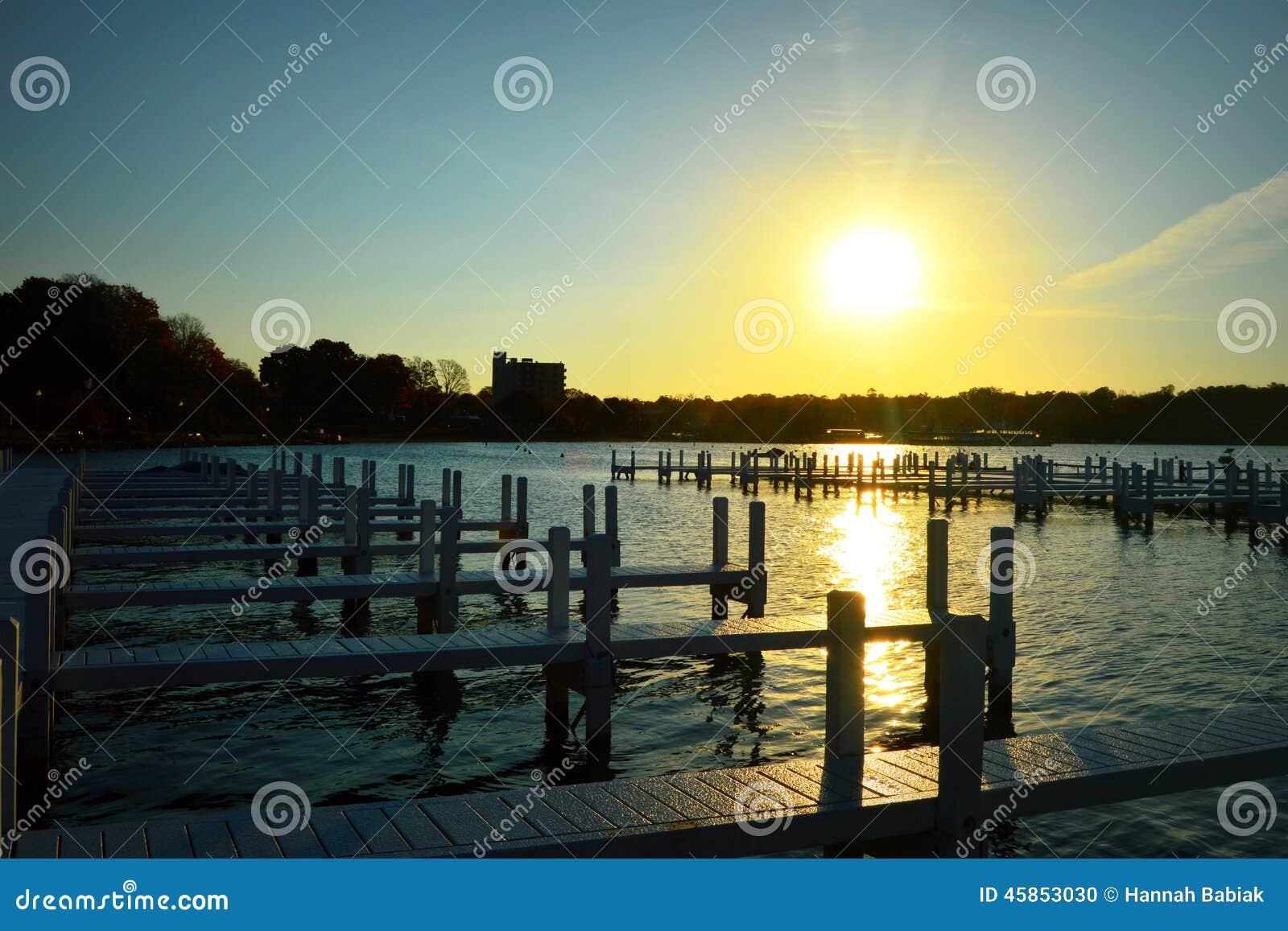 Piliers, lever de soleil de matin