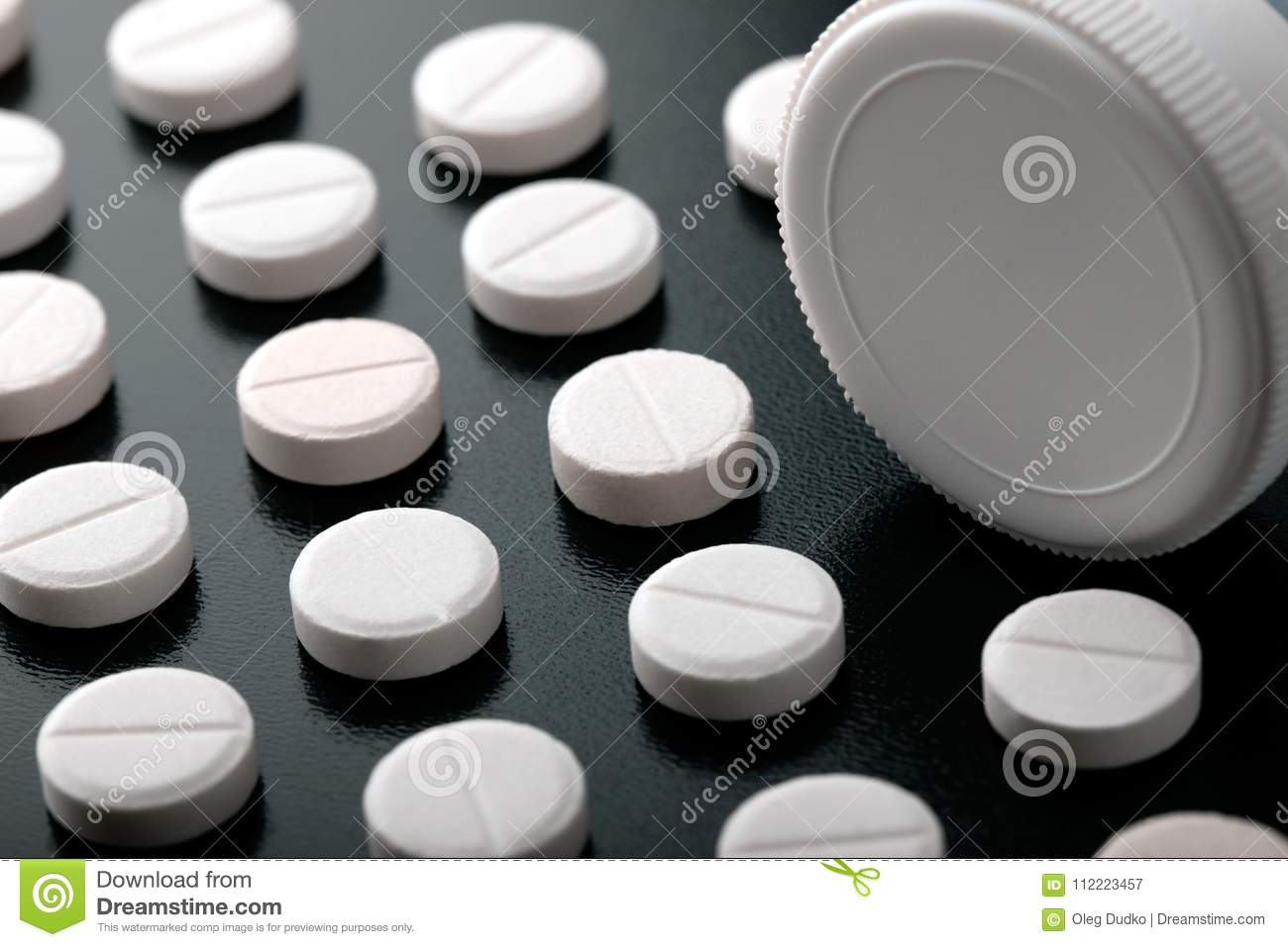 Pill And Tube Stock Image Image Of Organized Pill 112223457