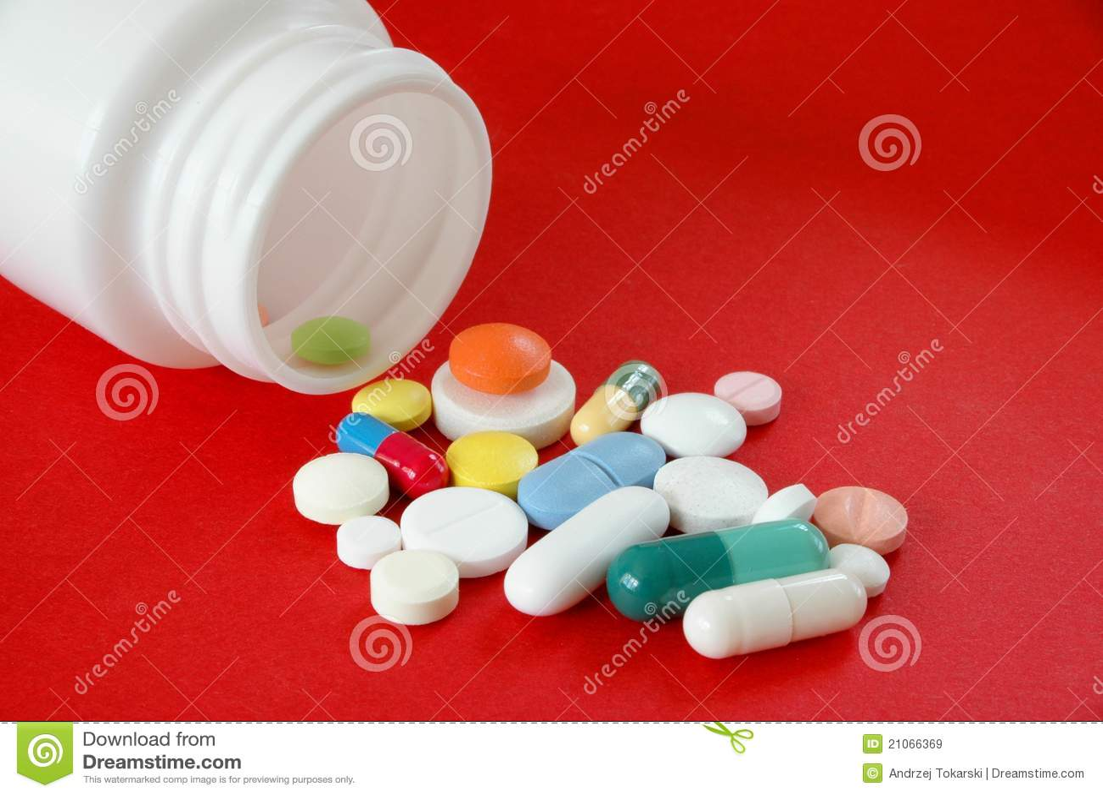 Pillen op Rood