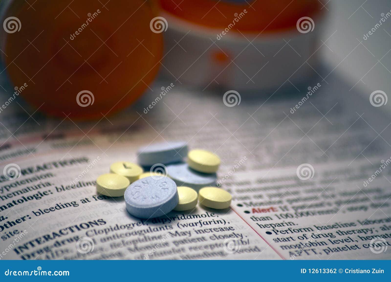 Pillole sulla guida di riferimento delle droghe