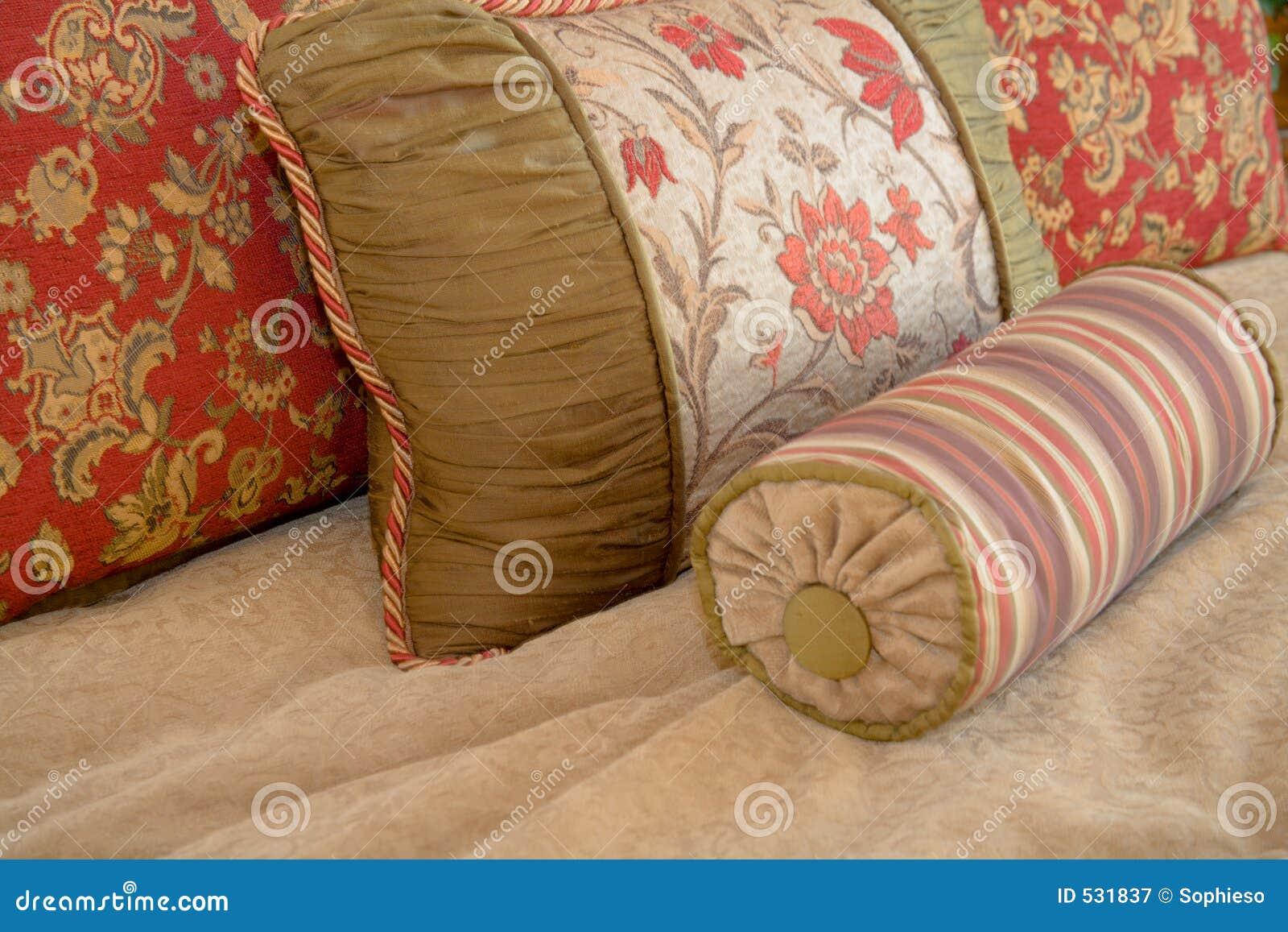Pillow Arrangement Royalty Free Stock Photography - Image: 531837