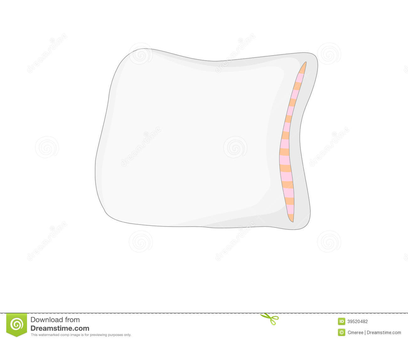 Pillow Stock Vector - Image: 39520482