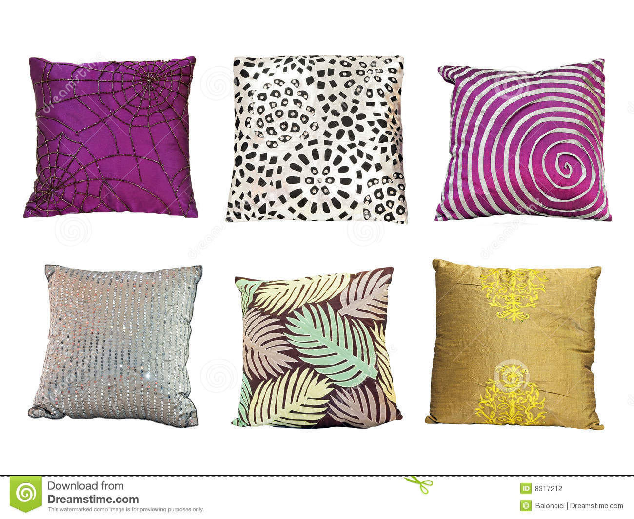colorful pillows texture. royalty-free stock photo. download pillows texture colorful h