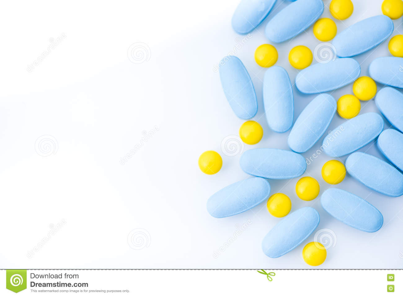 pills and drugs border background stock photo image