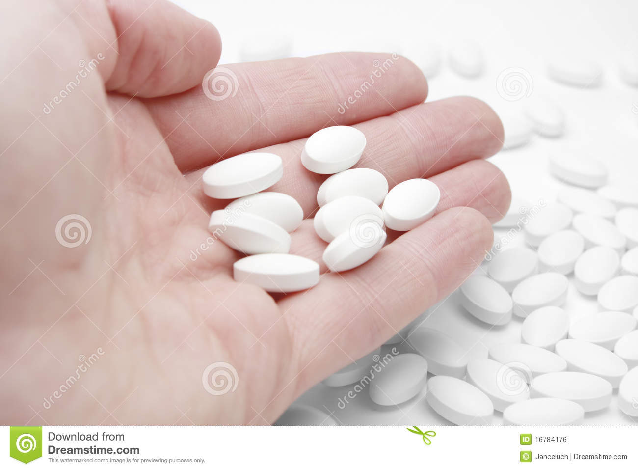... In Hand, Generic Drugs Royalty Free Stock Image - Image: 16784176