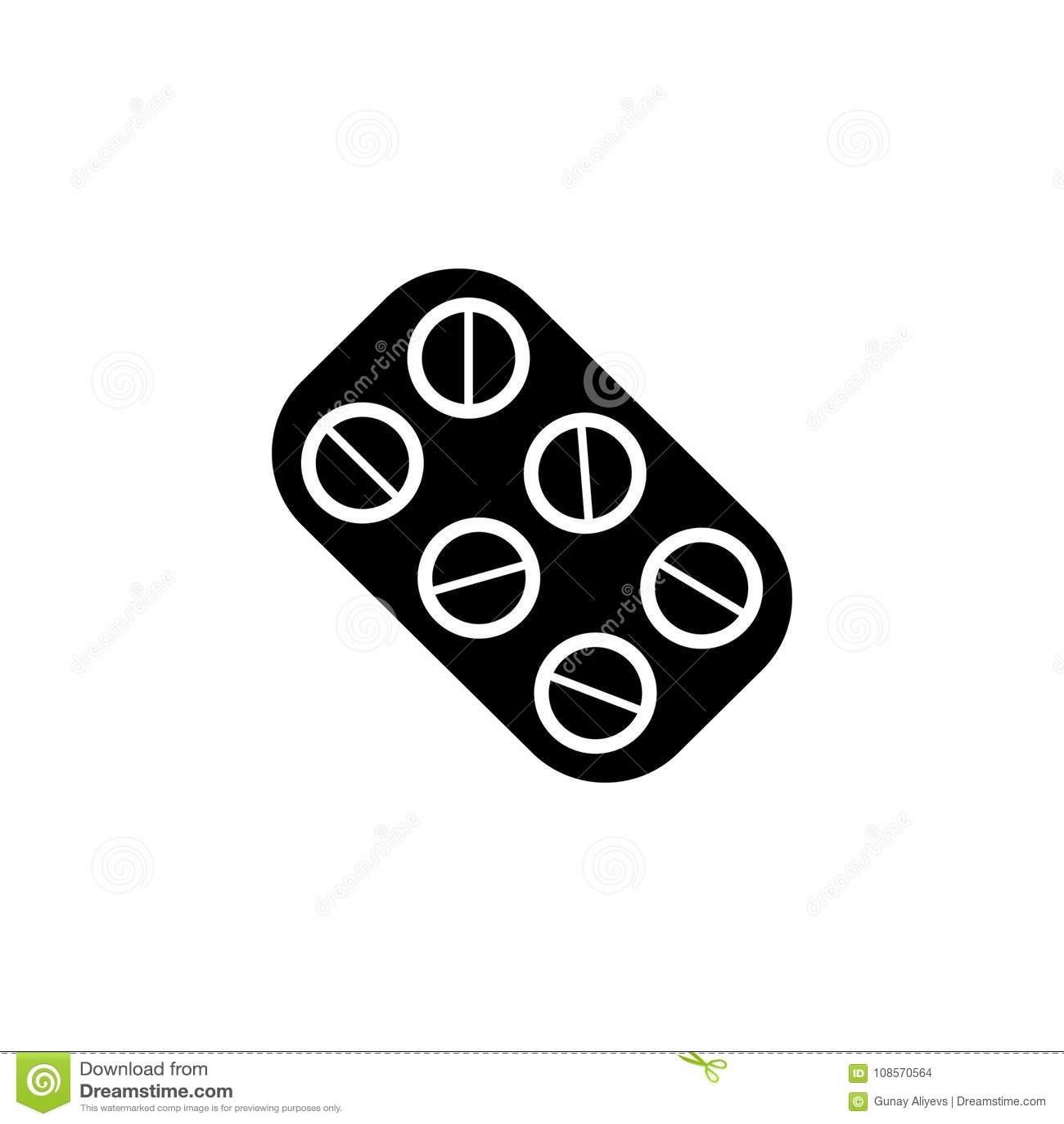 Pills Icon Doctor Element Icon Premium Quality Graphic Design