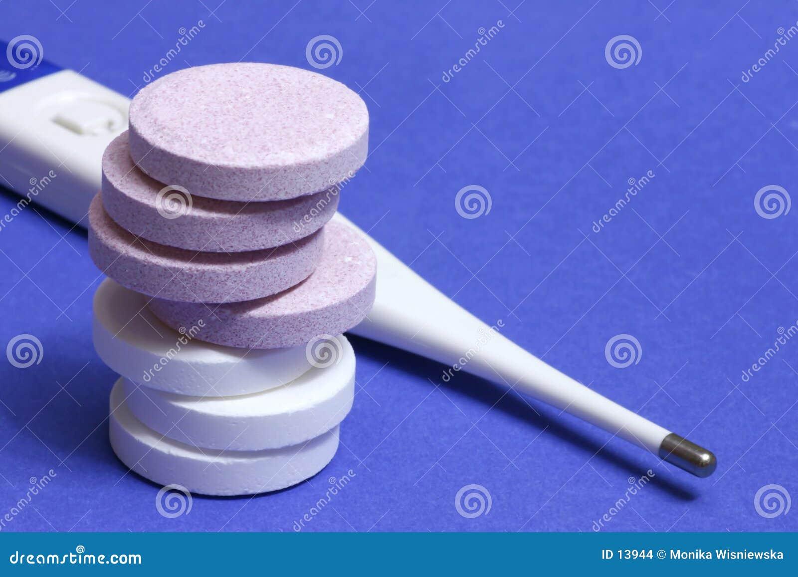 Pillstermometer