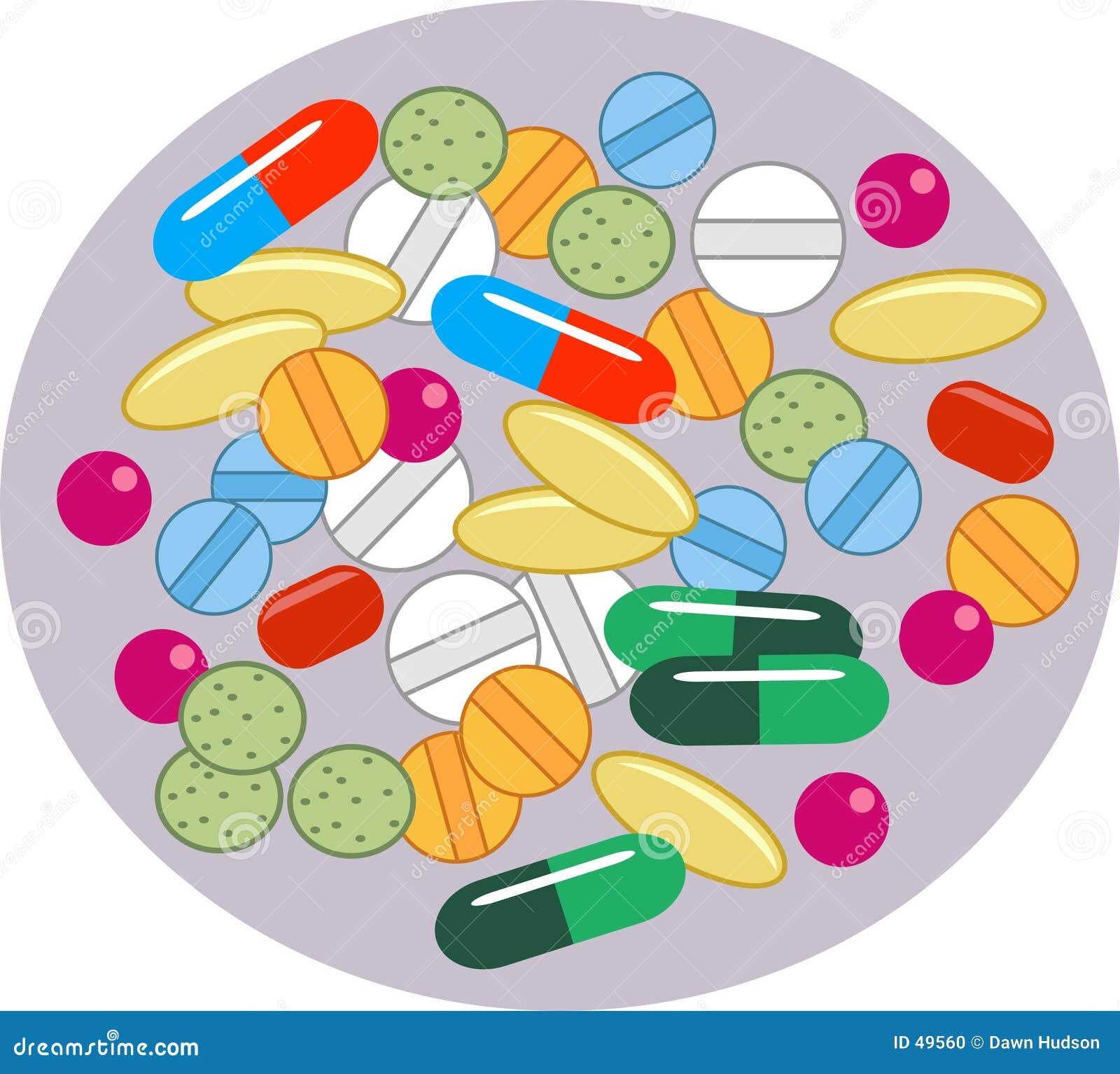 Pillules de vitamine