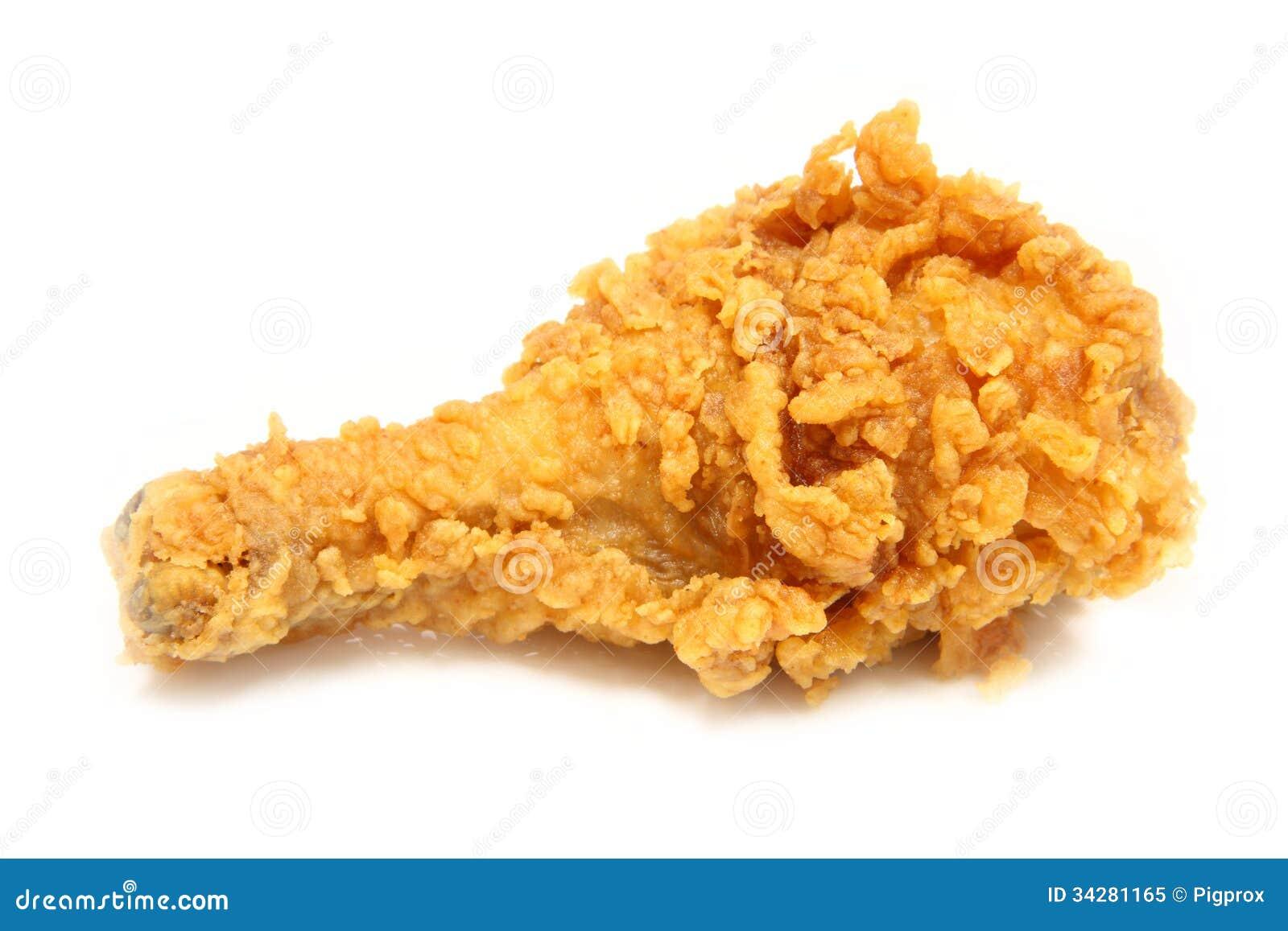 pilon de poulet frit d 39 or de brun photo libre de droits image 34281165. Black Bedroom Furniture Sets. Home Design Ideas