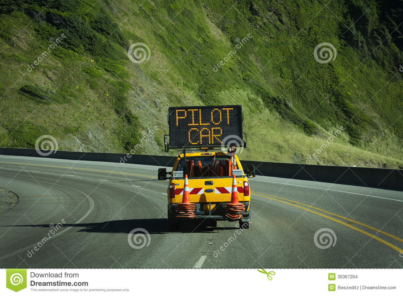 Pilot car service business plan
