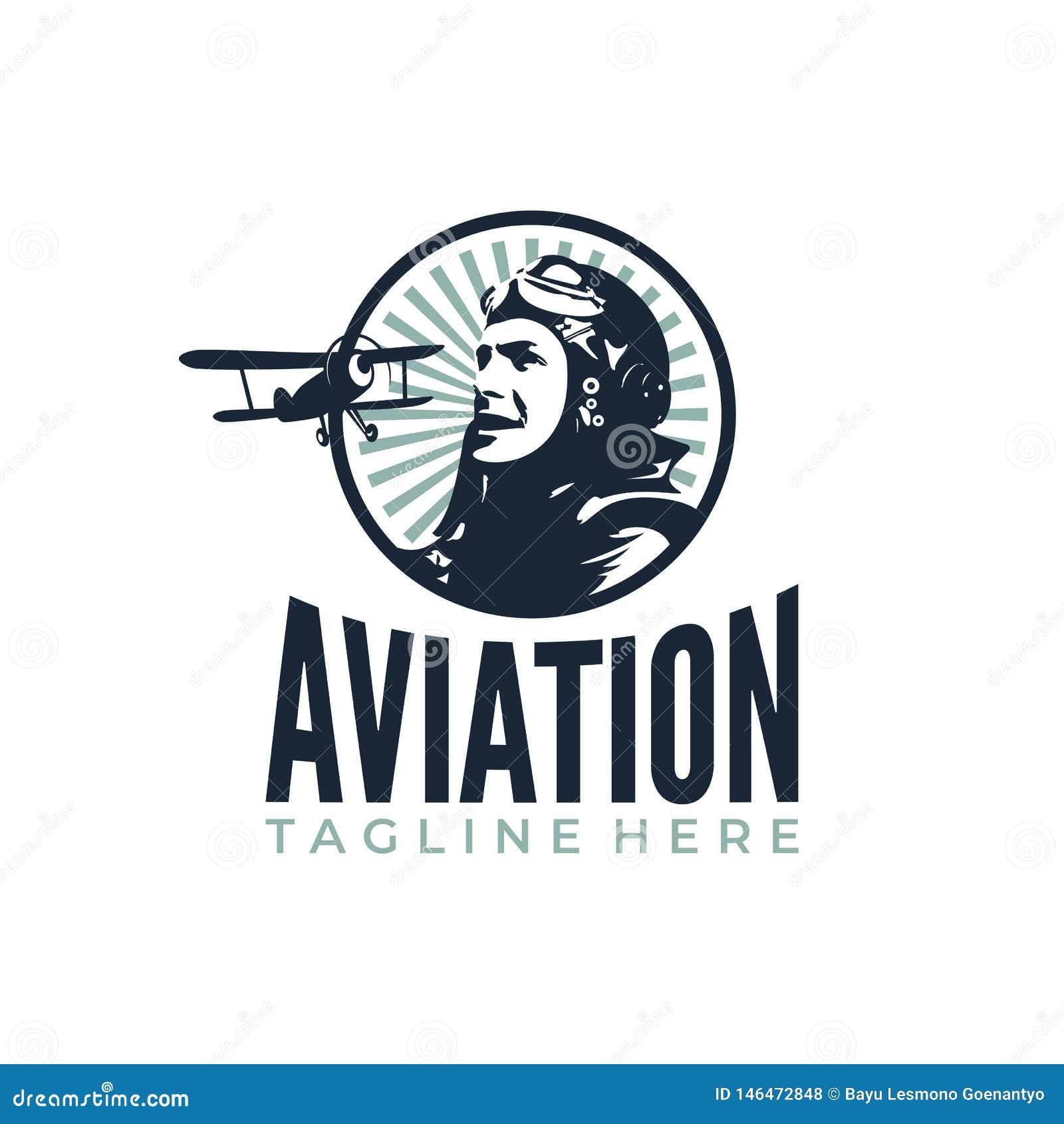 Pilot Plane Retro
