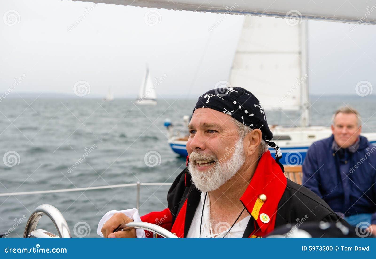 Pilote de bateau à voiles