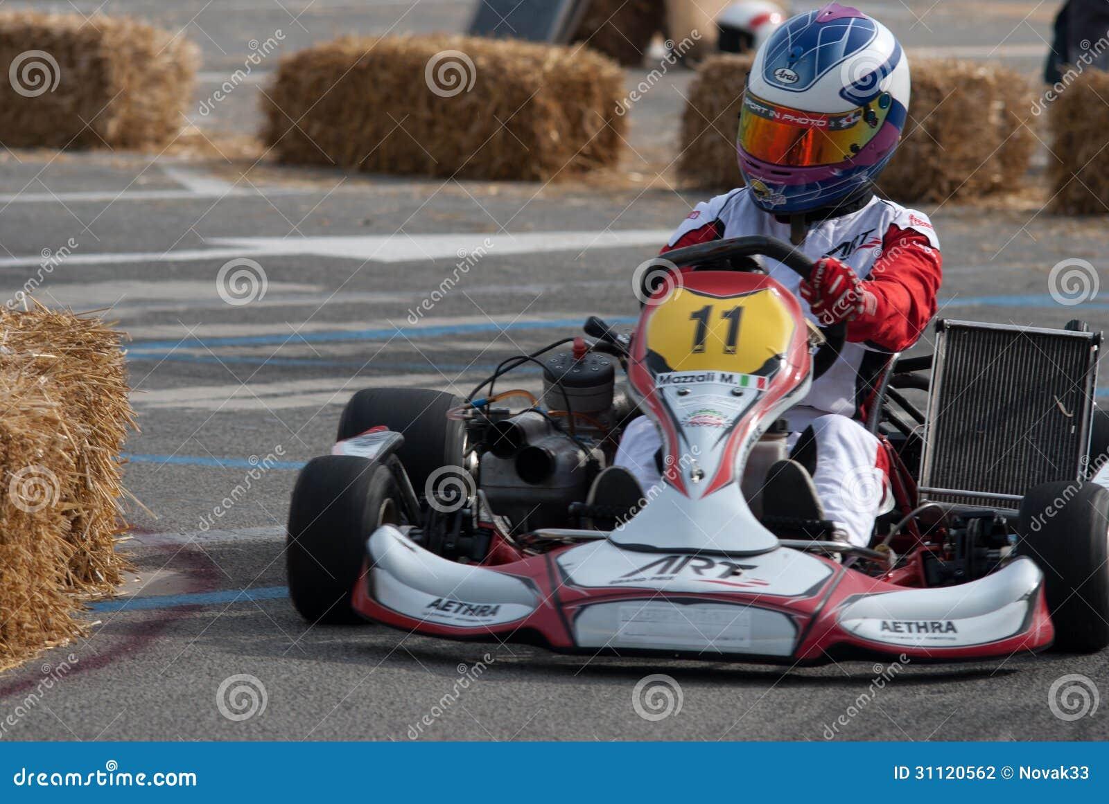 Pilote de kart
