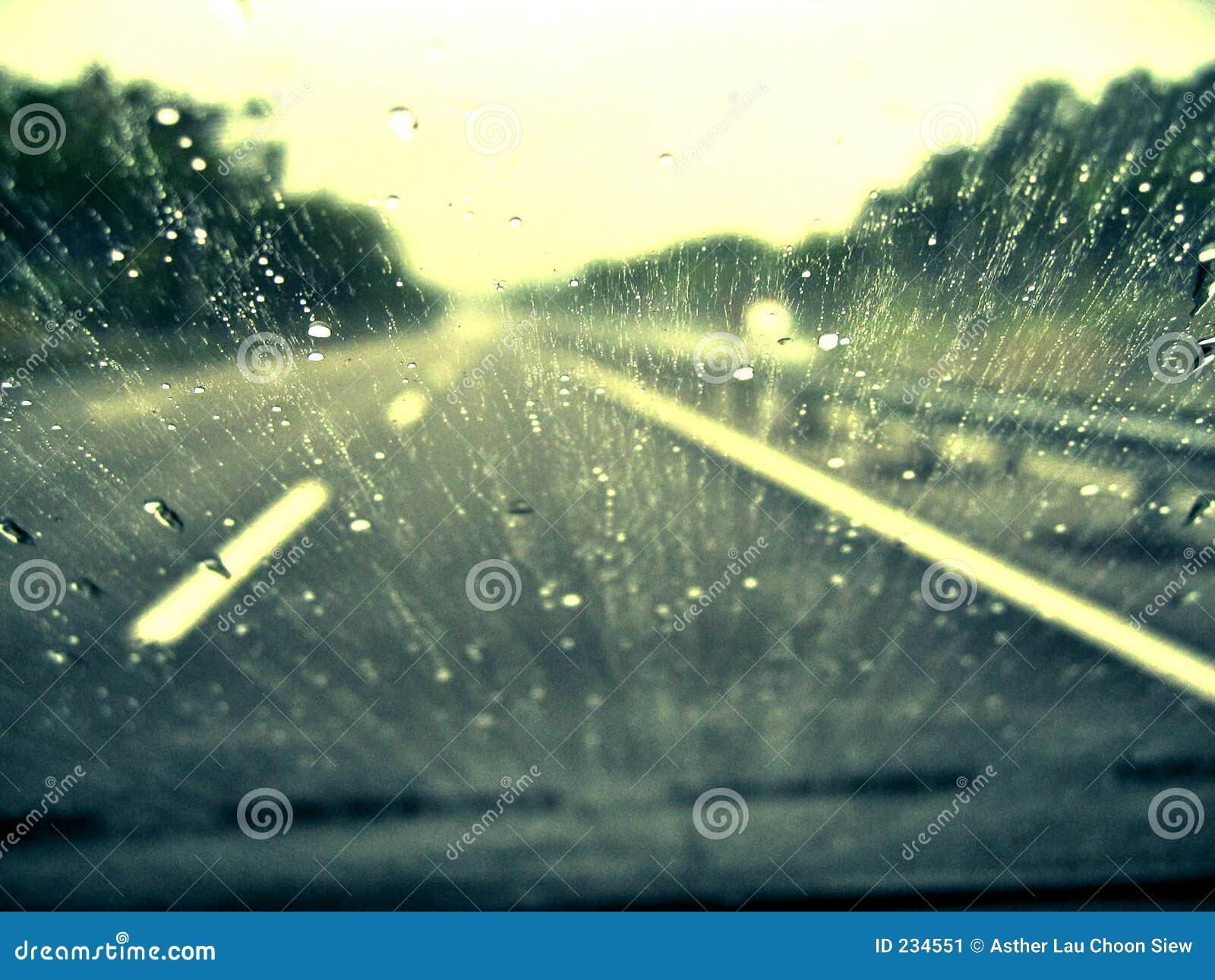 Piloter sous la pluie