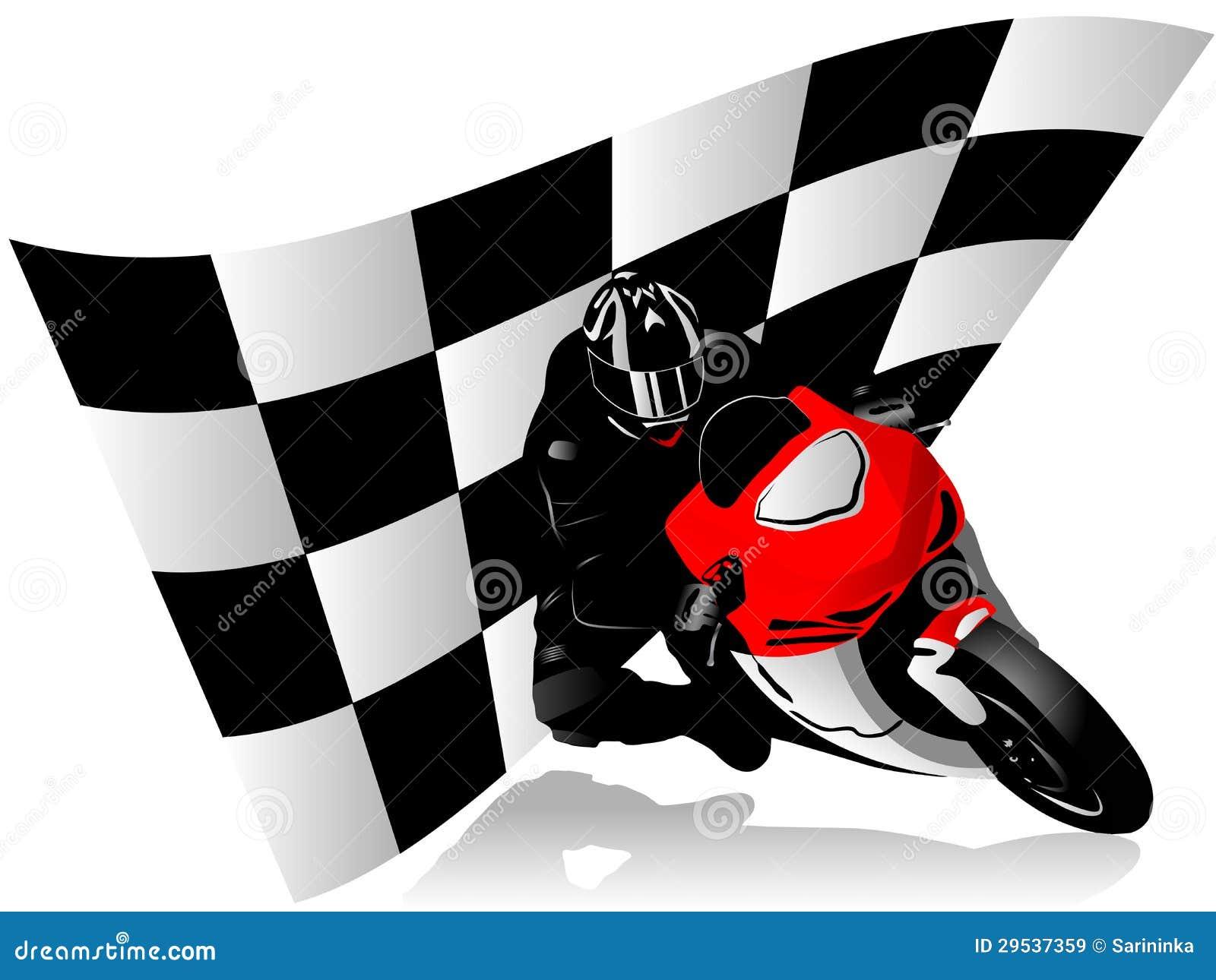 Piloto da motocicleta