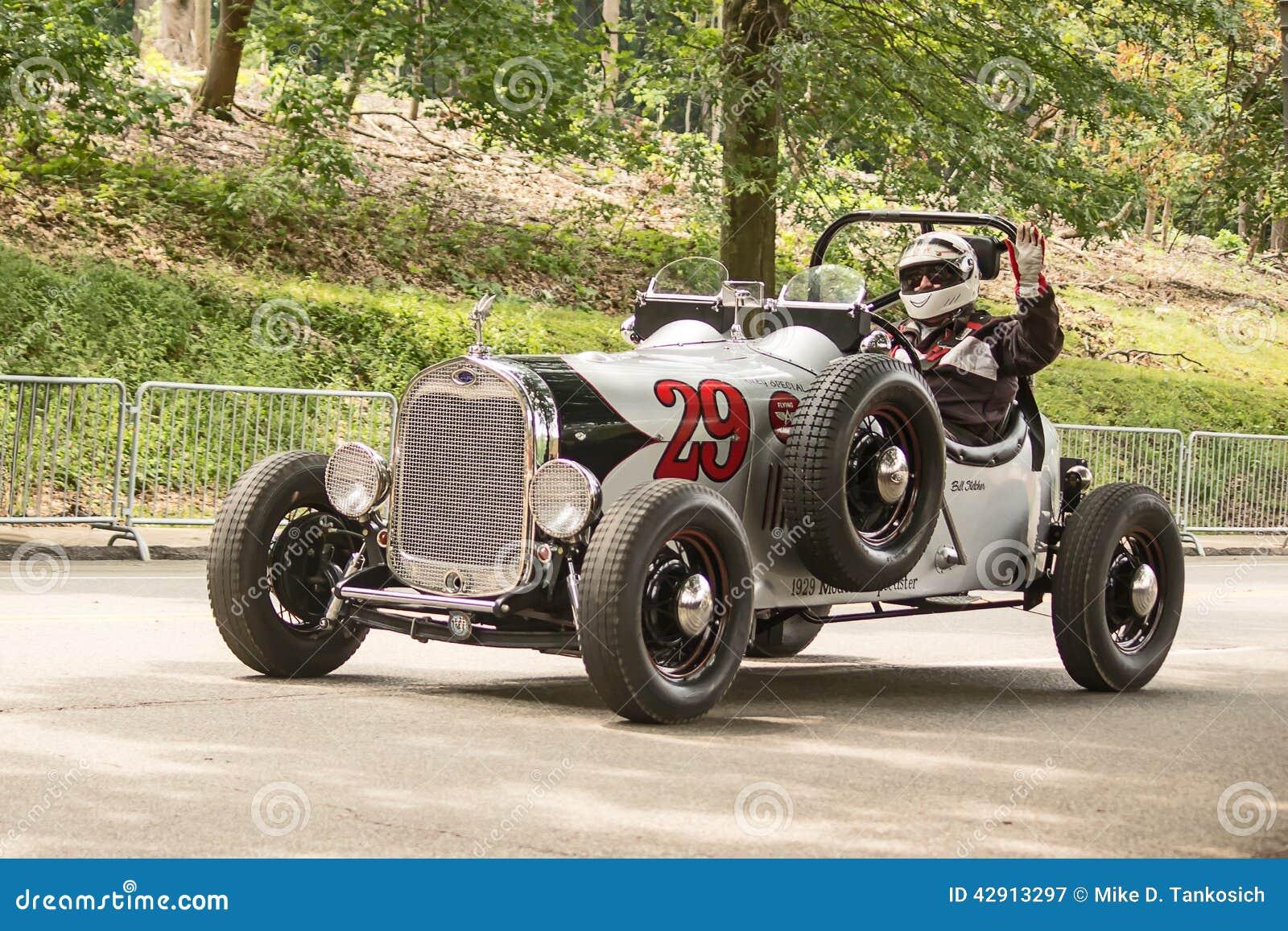 Piloto grande de Prix do vintage