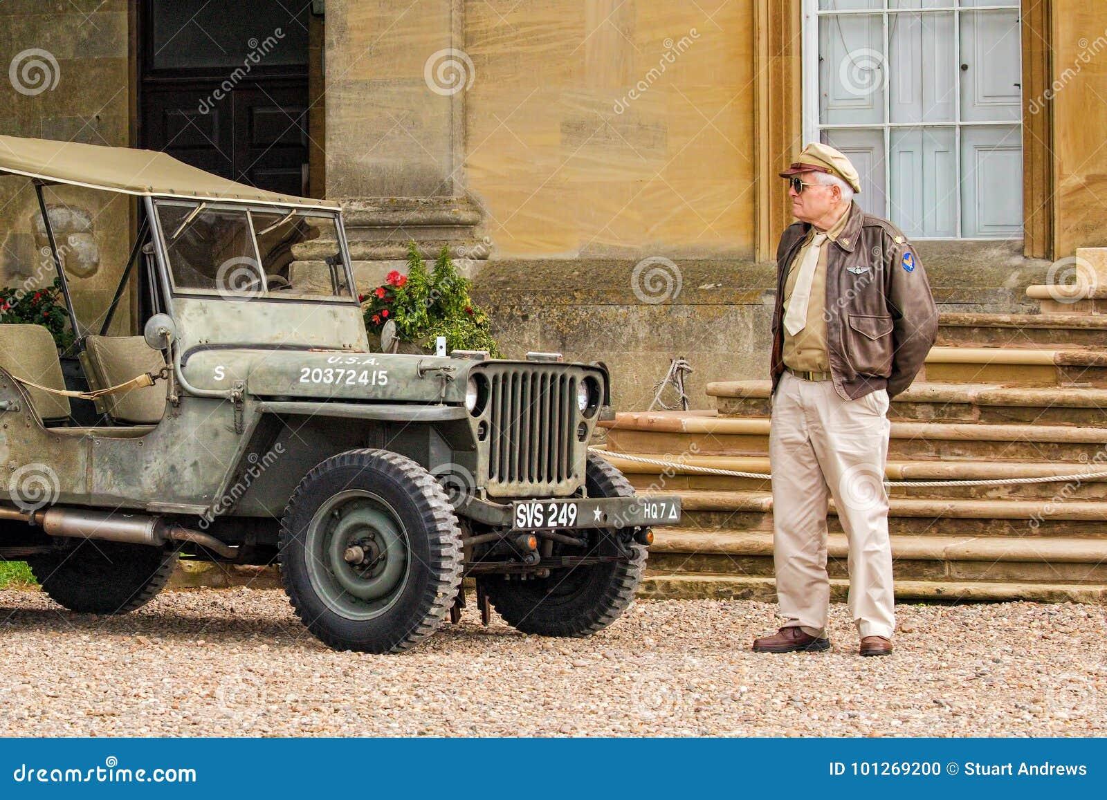 Piloto WWII de la fuerza aérea del ejército de los E.E.U.U.