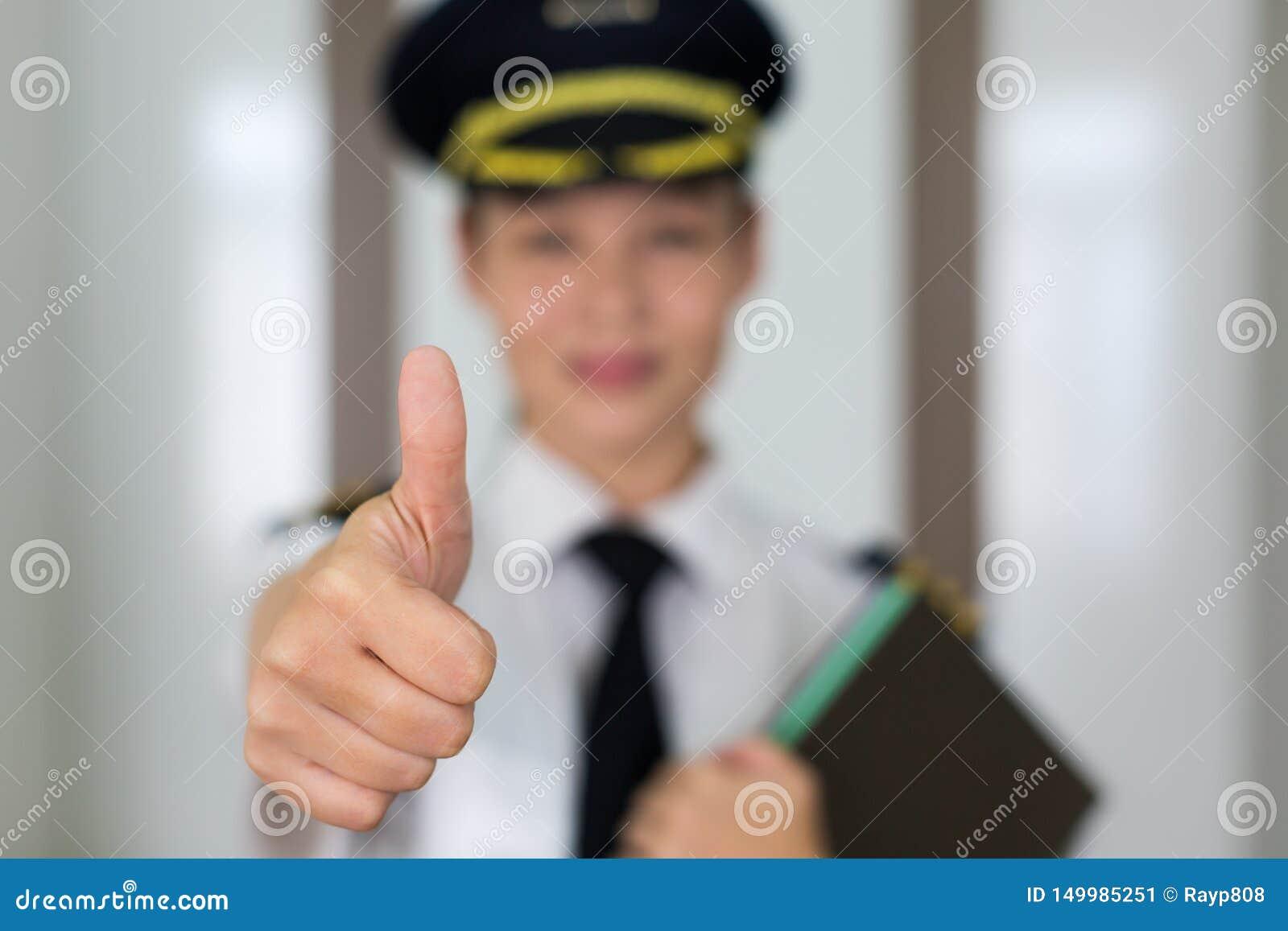 Pilotstående för yrkesmässig kvinna