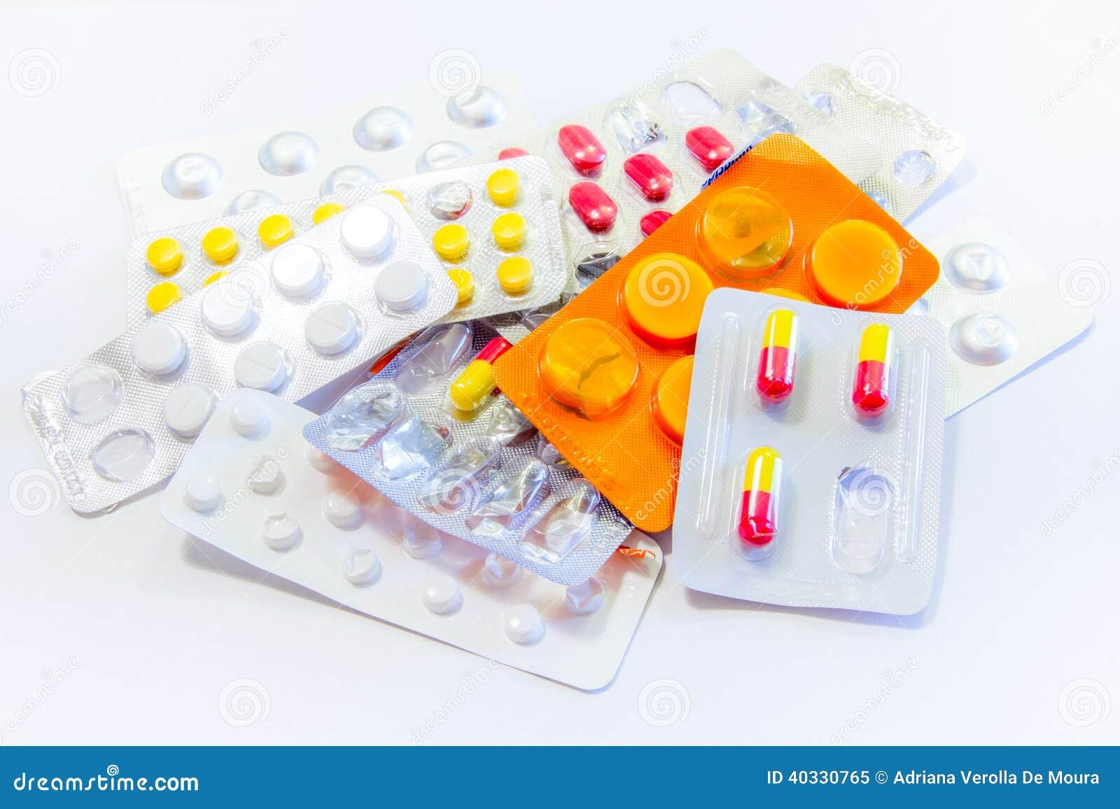 Pilules de médecine