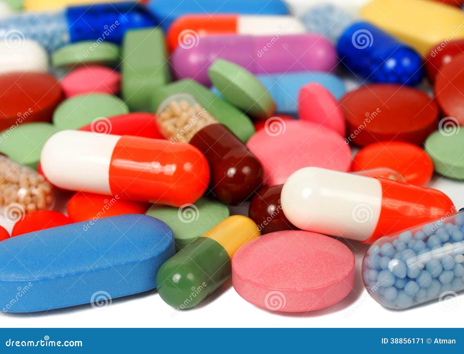 Pilules et capsules
