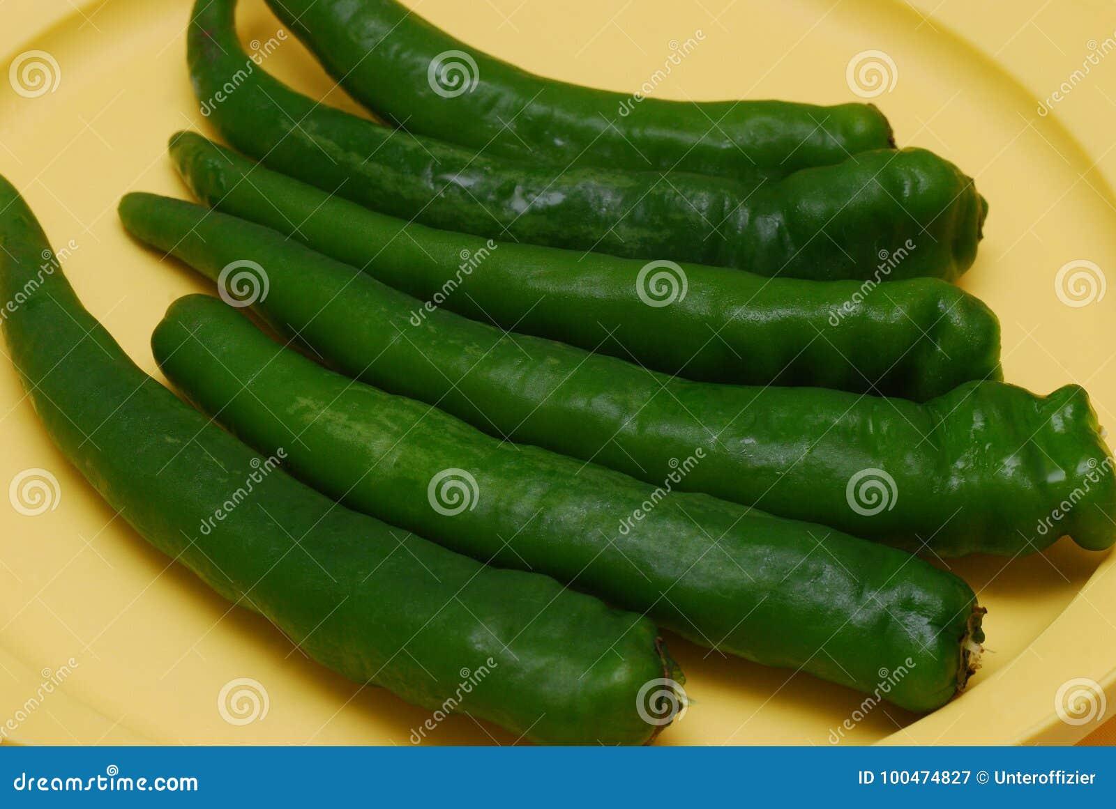 Pimentões verdes