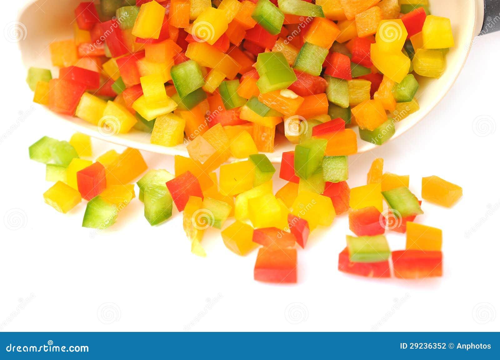 Download Pimenta de sino da colher foto de stock. Imagem de vegetal - 29236352