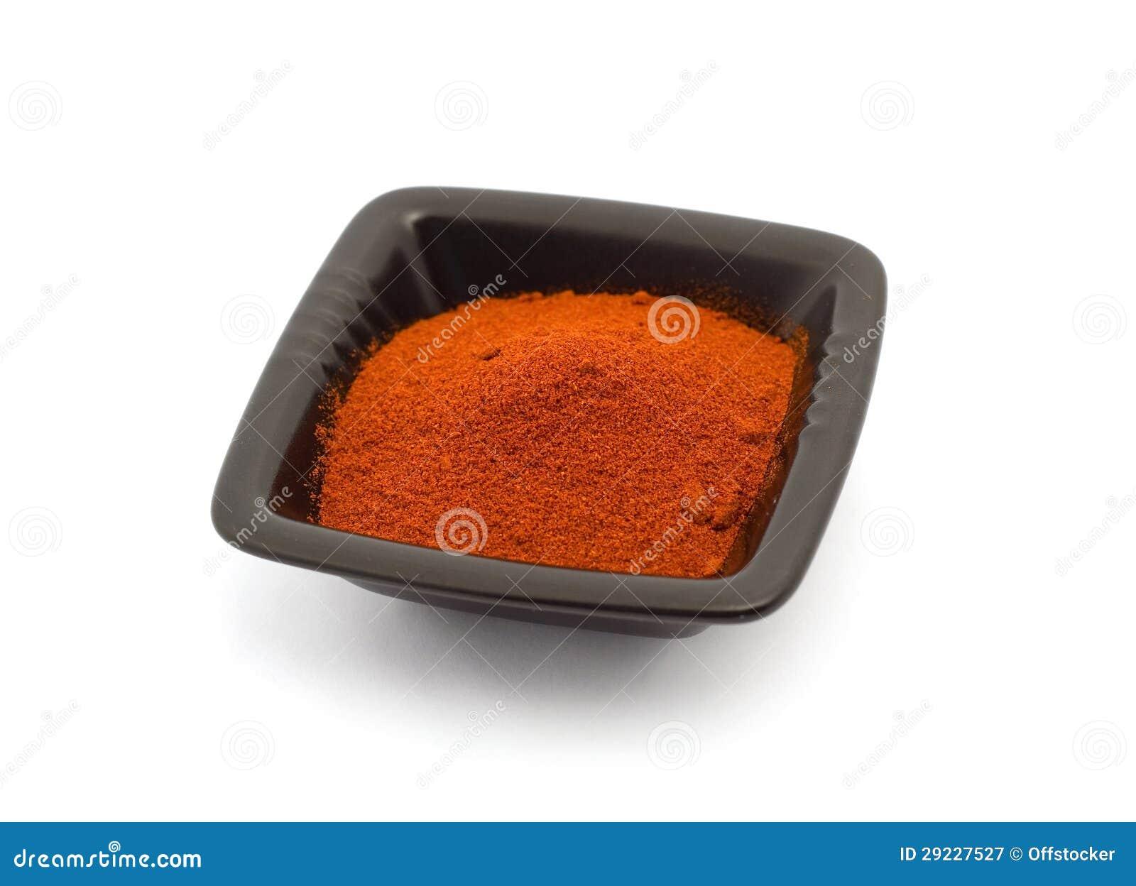 Download Pimenta vermelha à terra imagem de stock. Imagem de alimento - 29227527