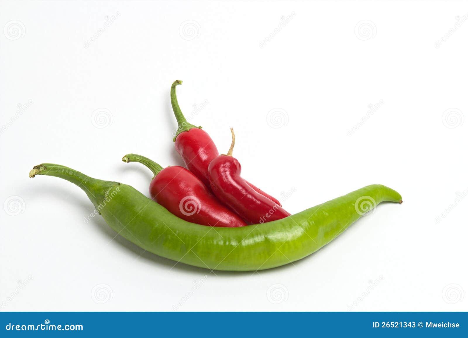 Pimentas de pimentão