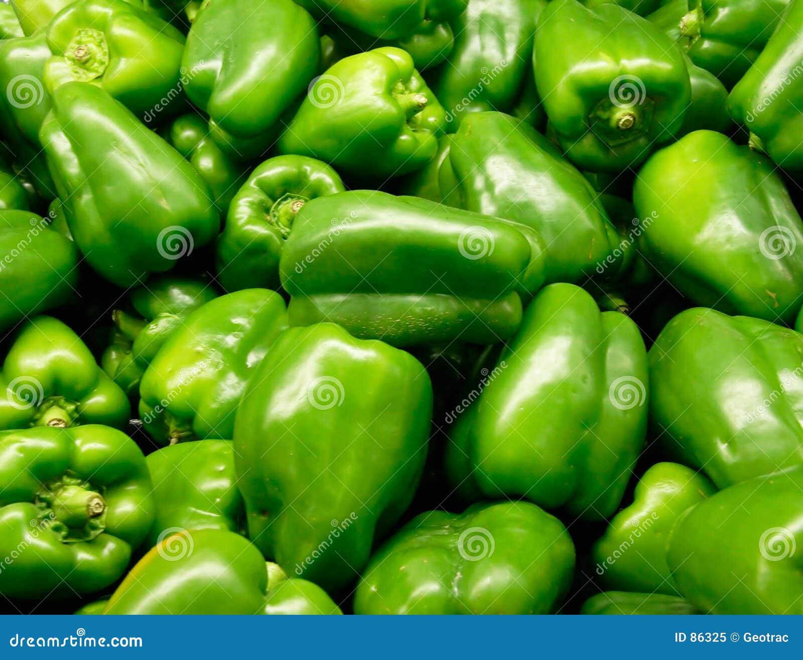 Pimentas verdes