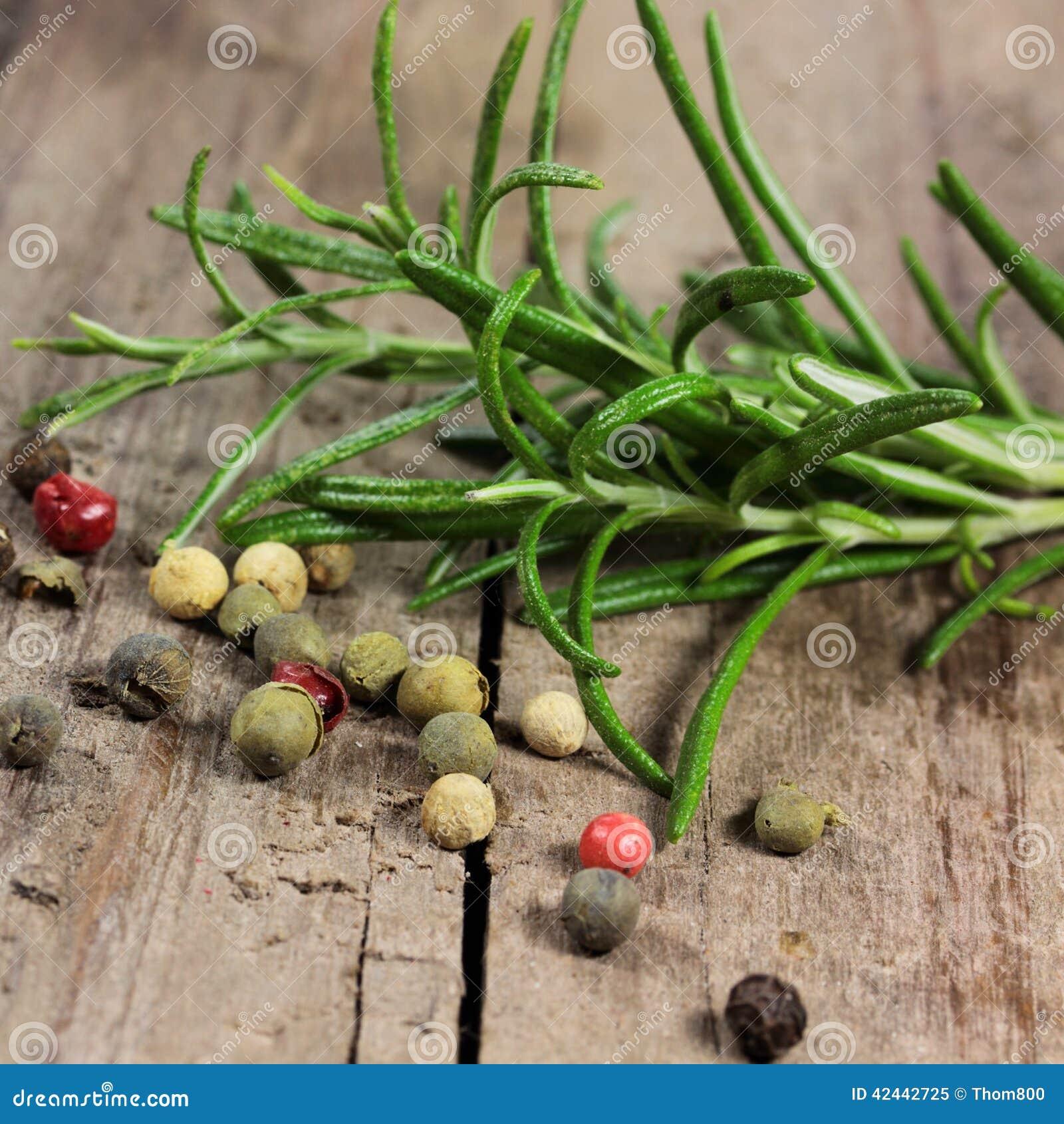 Pimienta y Rosemary