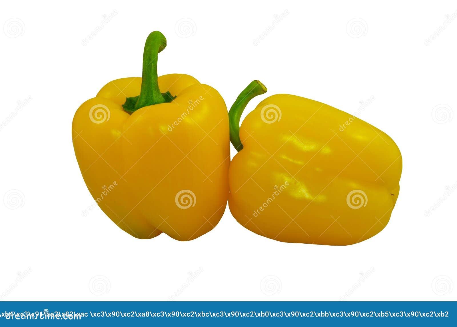 Pimientas dulces amarillas