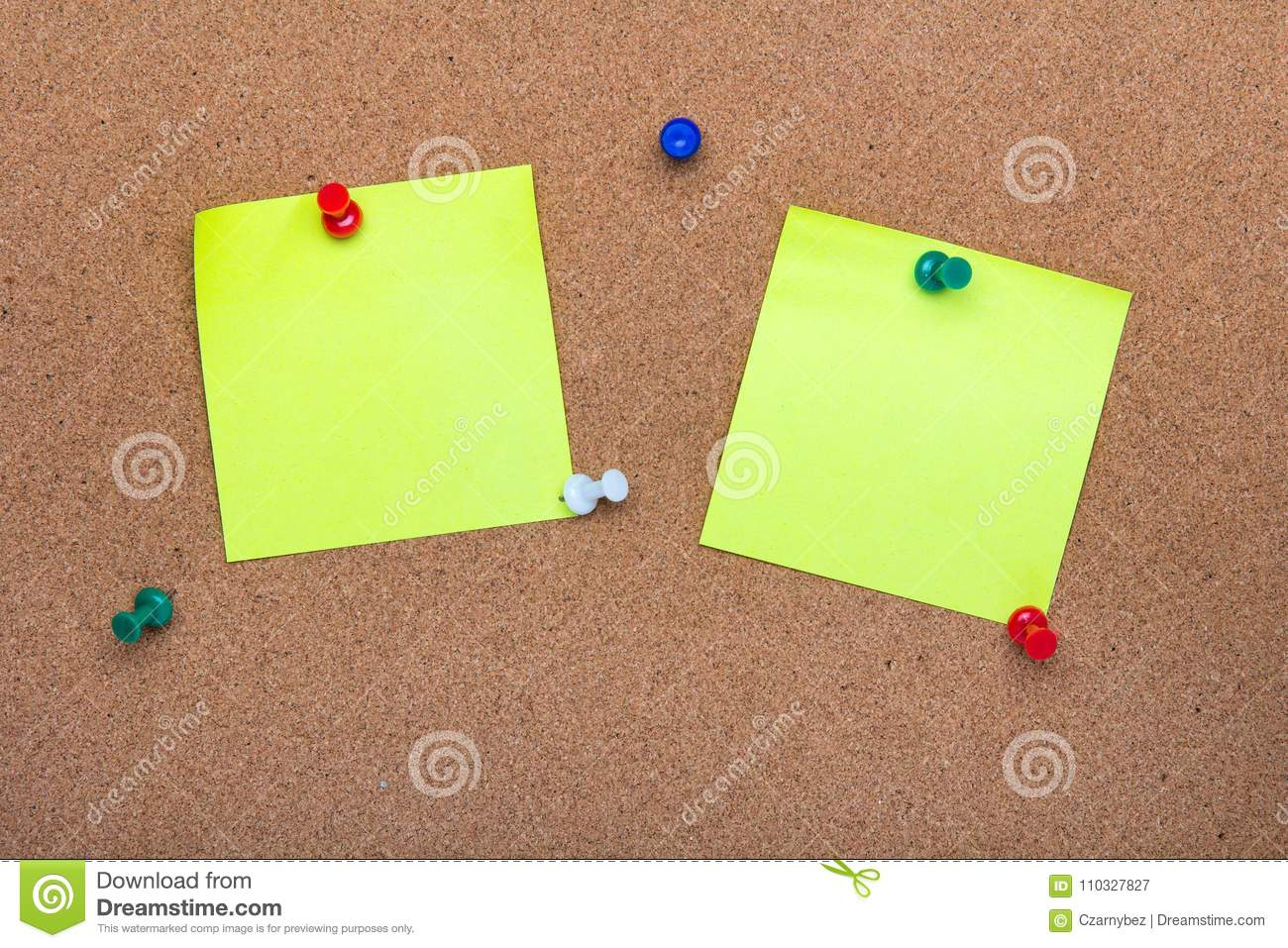 Pin board texture for background,