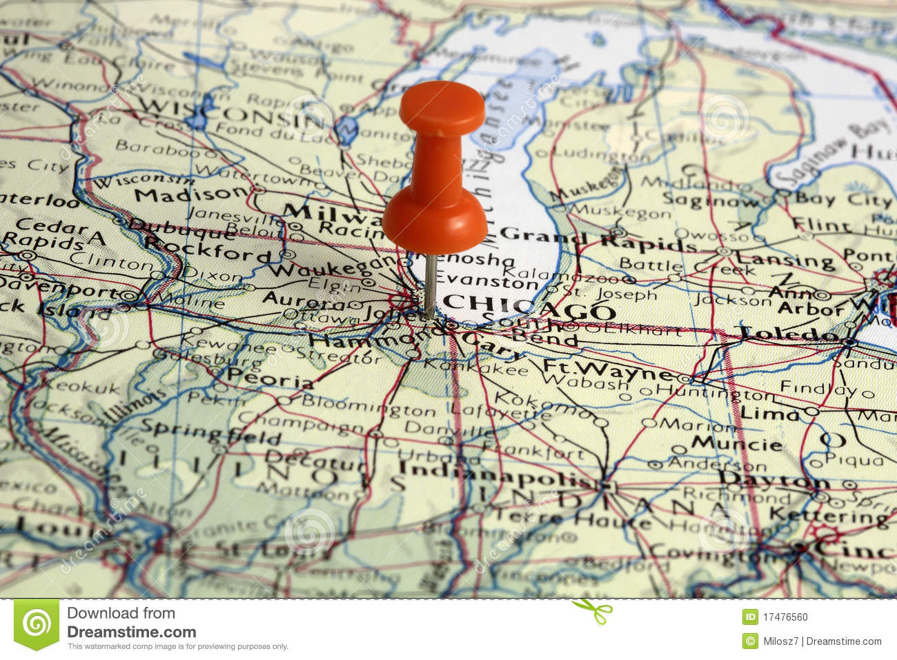 Pin Location Map Free Vector Graphic On Pixabay: Pin On Chicago Location Stock Photo