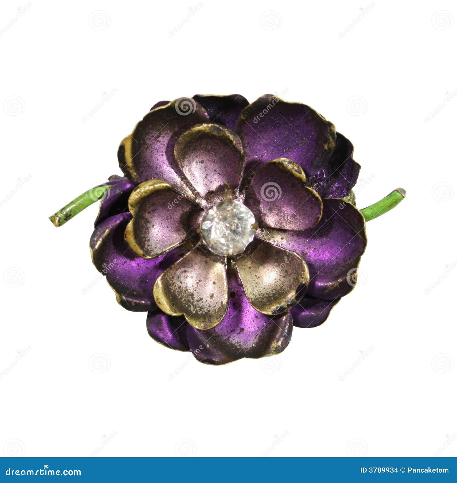 Pin kwiat występować samodzielnie