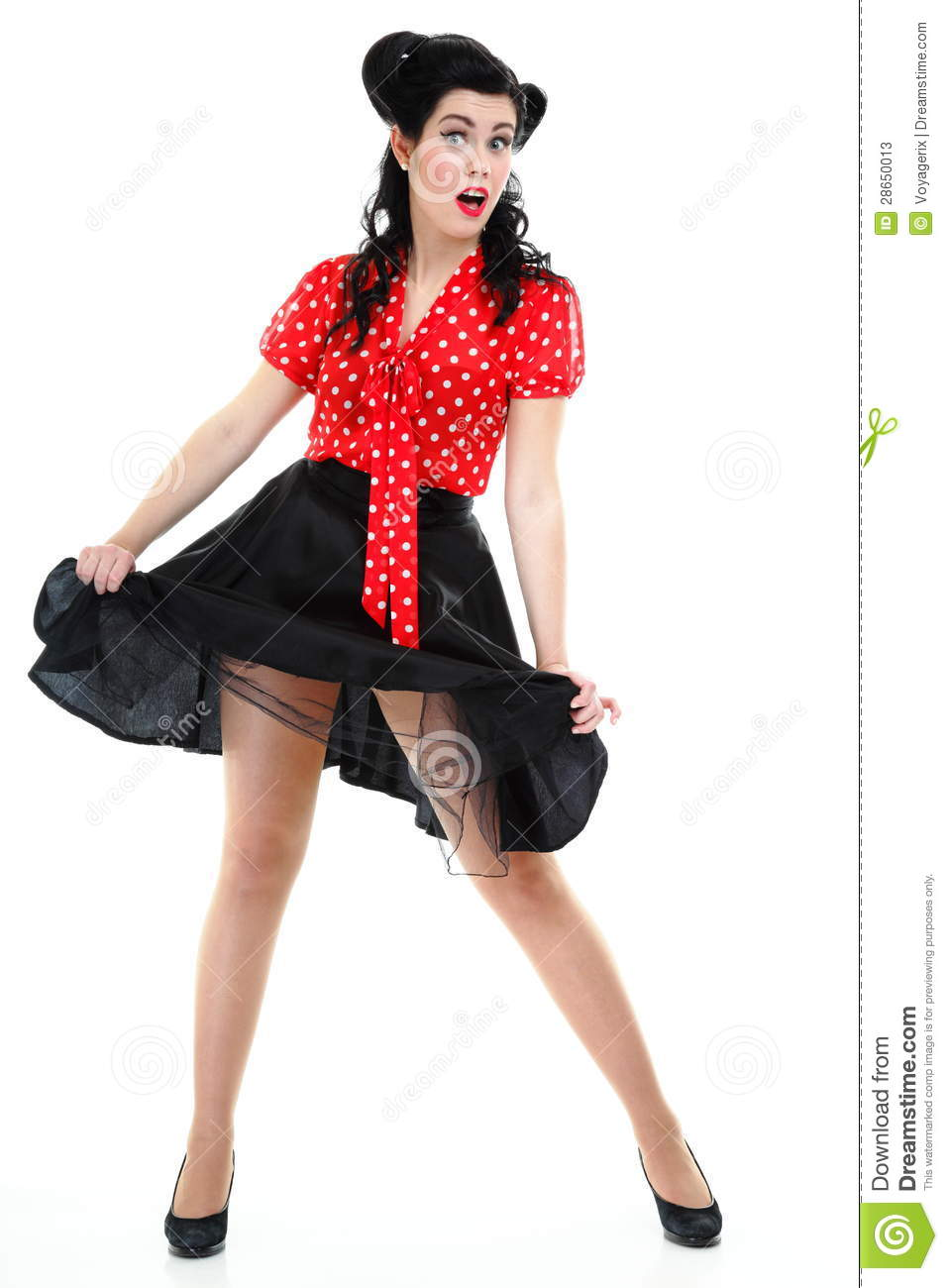 Pin up girl american style retro woman stock image image 28650013 - Pin up style ...
