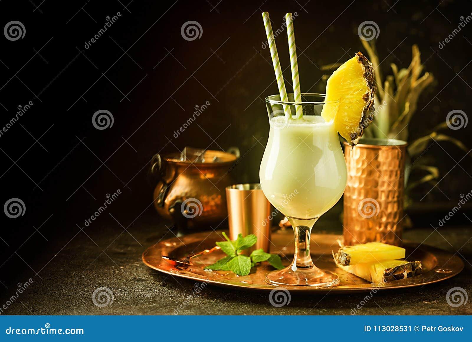 Pina Colada Cocktail congelada